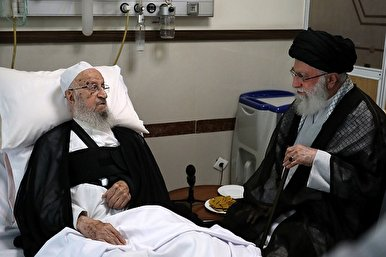 Leader Visits Senior Cleric at Hospital